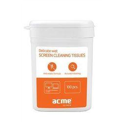 Acme Chusteczki czyszczące do monitorów (100 szt) Darmowy odbiór w 21 miastach!