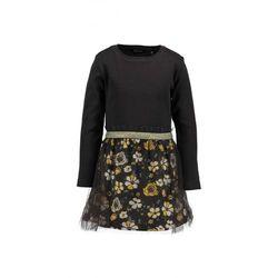 Sukienka czarna w kwiatowy wzór 3K37B0 Oferta ważna tylko do 2023-06-02