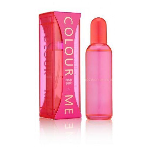 Wody perfumowane damskie, Milton-Lloyd Colour Me Neon Pink Woman 100ml EdP