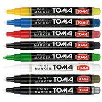 Markery, Marker olejowy Toma, zielony wkład (to-41)