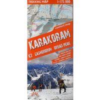 Przewodniki turystyczne, Expressmap Karakorum (Karakoram) laminowana mapa trekkingowa 1:175 000 (opr. miękka)
