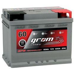 Akumulator GROM EFB START&STOP 60Ah 600A Prawy Plus DTR