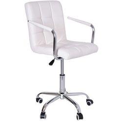 Fotel Fryzjerski Ritmo Biały