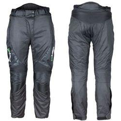 Spodnie motocyklowe wodoodporne unisex W-TEC Mihos NEW, Czarny, 4XL