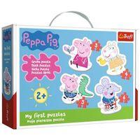 Puzzle, Puzzle Baby Urocza Świnka Peppa