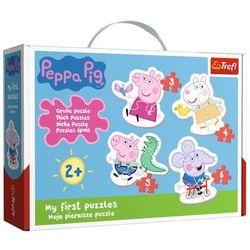 Puzzle Baby Urocza Świnka Peppa