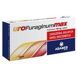 UROFURAGINUM Max 0,1g x 30 tabletek - 30 tabletek