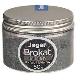 Dodatek strukturalny do farb i lakierów BROKAT 50 g Srebrny JEGER