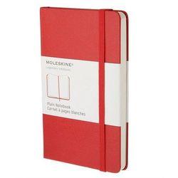Notes Moleskine L gładki czerwony
