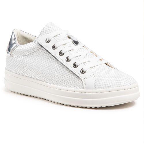 Damskie obuwie sportowe, Sneakersy GEOX - D Pontoise D D15FED 041BN C0007 White/Silver