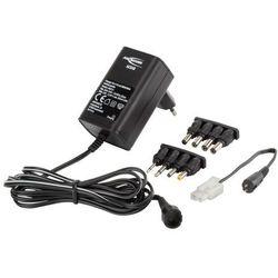 Ansmann 1001 – 0024 ACS 48 ładowarka do baterii 4 – 8 zellige NiMH/NiCd akumulator (4,8 V 9,6 V) w zestawie: Adapter sieciowy Czarny Darmowa wysyłka i zwroty