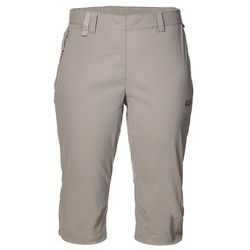 Spodnie damskie softshell ACTIVATE LIGHT 3/4 PANTS moon rock - 36