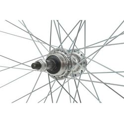 Koło 26 tył wolnobieg aluminiowe V-BR Swift Arriv stożek srebrne