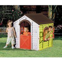 Domki i namioty dla dzieci, KETER domek do zabaw dla dzieci RANCHO PLAYHOUSE - zielony - BEZPŁATNY ODBIÓR: WROCŁAW!