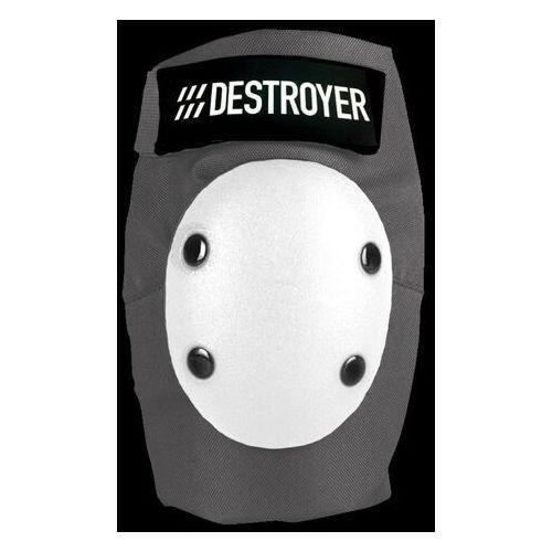 Ochraniacze na ciało, ochraniacze na łokcie DESTROYER - Pro Elbow Grey/White (GRW) rozmiar: M