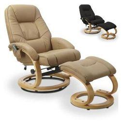 Fotel HALMAR MATADOR z funkcją masażu i podgrzewania