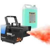 Wytwornice dymu, Beamz Rage 1000LED, wytwornica mgły, z fluidem do wytwarzania mgły, 6 x dioda LED RGB o mocy 3 W, 1000 W, 125 m³ /min, 2 l pojemności