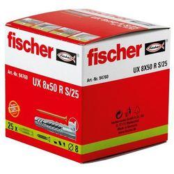 Kołek rozporowy uniwersalny Fischer 94760 UX, 8 x 50 mm, nylon, 25 szt.