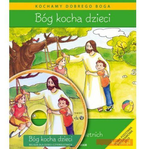 Książki religijne, Bóg kocha dzieci (opr. miękka)