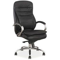 Fotel biurowy Signal Q-154 skóra naturalna/ekoskóra
