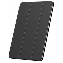 Baseus Simplism Magnetic Leather   Magnetyczne etui książkowe pokrowiec case stojak do iPad Pro 11'' (2020)   czarny - Czarny