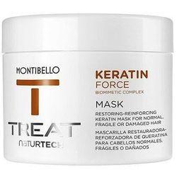 Montibello Keratin Force, maska termoochronna do cienkich i delikatnych 500ml