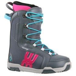 Westige buty snowboardowe Ema Grey 37 - BEZPŁATNY ODBIÓR: WROCŁAW!