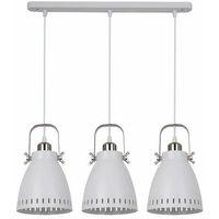 Lampy sufitowe, Franklin lampa wisząca 3-punktowa biała MD-HN8026S-3-WH+S.NICK