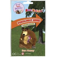 Książki dla dzieci, SEN MASZY MASZA I NIEDŹWIEDŹ POKOLORUJ MNIE (opr. miękka)
