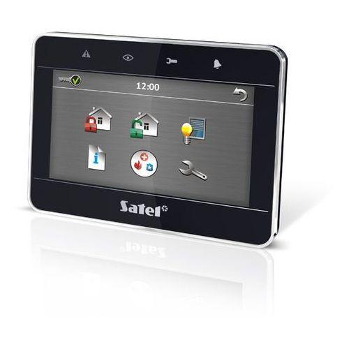 """Sterowniki systemów alarmowych, Manipulator graficzny z ekranem dotykowym 4,3"""" INT-TSG-BSB - CZARNY"""