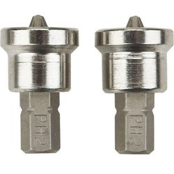 Końcówki wkrętakowe NEO 06-040 do płyt kartonowo-gipsowych 1/4 cala PH2 x 25 mm (2 sztuki)