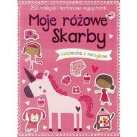 Książki dla dzieci, 250 naklejek - Moje różowe skarby