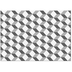 Dekor Tania Cersanit 25 x 35 cm white geometric