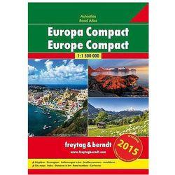 Europa atlas kompaktowy 1:1 500 000 (opr. miękka)