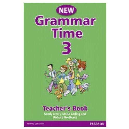 Książki do nauki języka, Grammar Time 3 przewodnik metodyczny (opr. miękka)