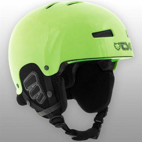 Kaski i gogle, kask dla dzieci TSG - Gravity Youth Solid Color Gloss Neon Green (228) rozmiar: XXS/XS