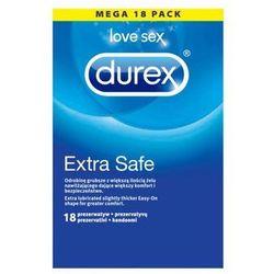 Prezerwatywy Durex Extra Safe (1 op. / 18 szt.)