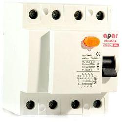 100mA 40A 4P Wyłącznik różnicowoprądowy APAR ELECTRIC