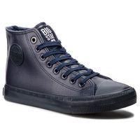 Damskie obuwie sportowe, Trampki BIG STAR - BB274755 Navy