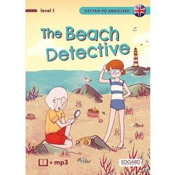 Detektywka na plaży. the beach detective. czytam po angielsku - kaja makowska