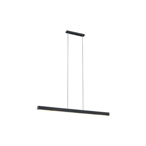 Lampy sufitowe, LAMPA wisząca VERMONT 3951 Argon metalowa OPRAWA listwa LED 24W zwis belka czarna