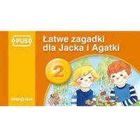 Książki dla dzieci, PUS Łatwe zagadki dla Jacka i Agatki 2 (opr. miękka)