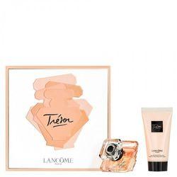 Lancome Tresor, Zestaw podarunkowy, woda perfumowana 30ml + mleczko do ciała 50ml