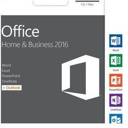 Microsoft Office 2016 dla Użytkowników Domowych i Małych Firm Mac