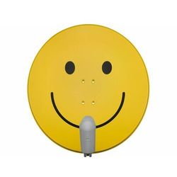 TECHNISAT SATMAN 850 Plus, konwerter UNYSAT Quattro-Switch LNB, smiley