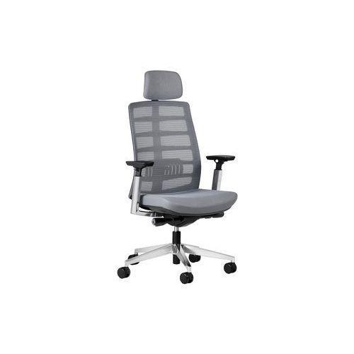 Fotele i krzesła biurowe, Fotel ECLIPTIC szary