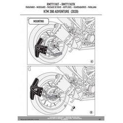 Kappa rm7711kitk mocowanie błotnika krm01 i krm02 ktm 390