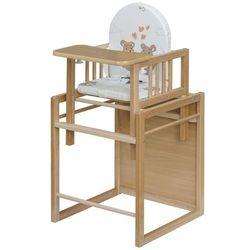 COSING Bukowe krzesełko do karmienia Viktoria - BEZPŁATNY ODBIÓR: WROCŁAW!