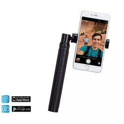 Uniwersalny kij do selfie i wideo 4K Momax Selfie Pro + pilot Bluetooth (czarny)