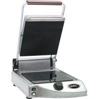 Grille gastronomiczne, Kontakt grill ceramiczny gładki/ryflowany, pojedynczy 1,6 kW   UNOX, 920110